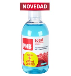PHB ENJUAGUE BUCAL TOTAL 300200ML