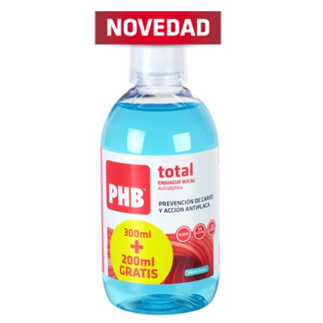 ENJUAGUE BUCAL PHB TOTAL 300200ML